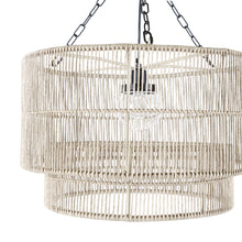 Load image into Gallery viewer, Tanner Outdoor Pendant Drum, Natural