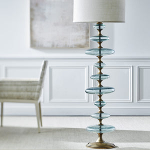 Calypso Glass Floor Lamp