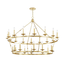 Load image into Gallery viewer, ALLENDALE Two-Tier Chandelier by Hudson Valley