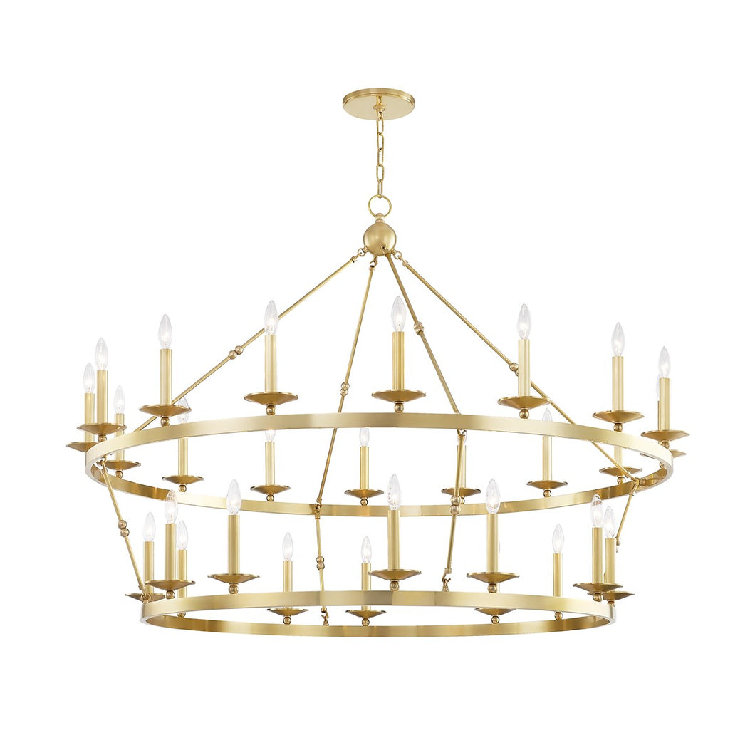 ALLENDALE Two-Tier Chandelier by Hudson Valley