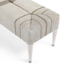 Load image into Gallery viewer, Fritz Rope Bench, Fog White by Palecek