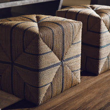 Load image into Gallery viewer, Fritz Rope Square Ottoman