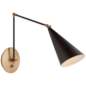 Clemente Double-Arm Library Sconce