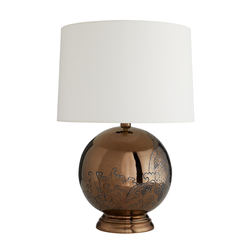 Flint Lamp by Arteriors