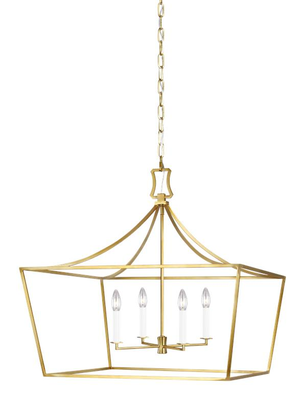 Southold Wide Lantern - C&M by Chapman & Myers