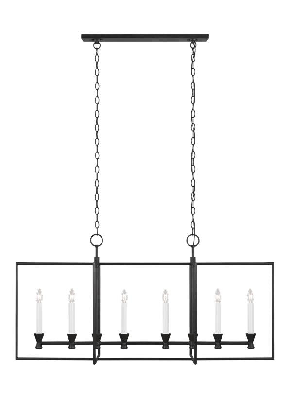 Keystone Linear Chandelier - C&M by Chapman & Myers
