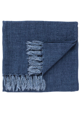 Madura Indigo Throw