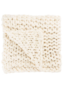 Sublime Ivory Throw