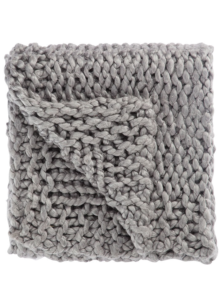 Sublime Grey Throw