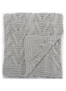 Serin Grey Throw