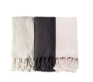 TRESTLES OVERSIZED THROW - 3 COLORS