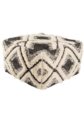 Ultra Textured Moon Pouf
