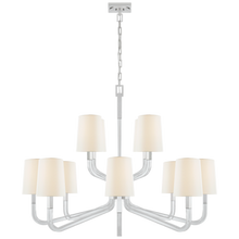 Load image into Gallery viewer, Reagan Grande Two Tier Chandelier by Visual Comfort