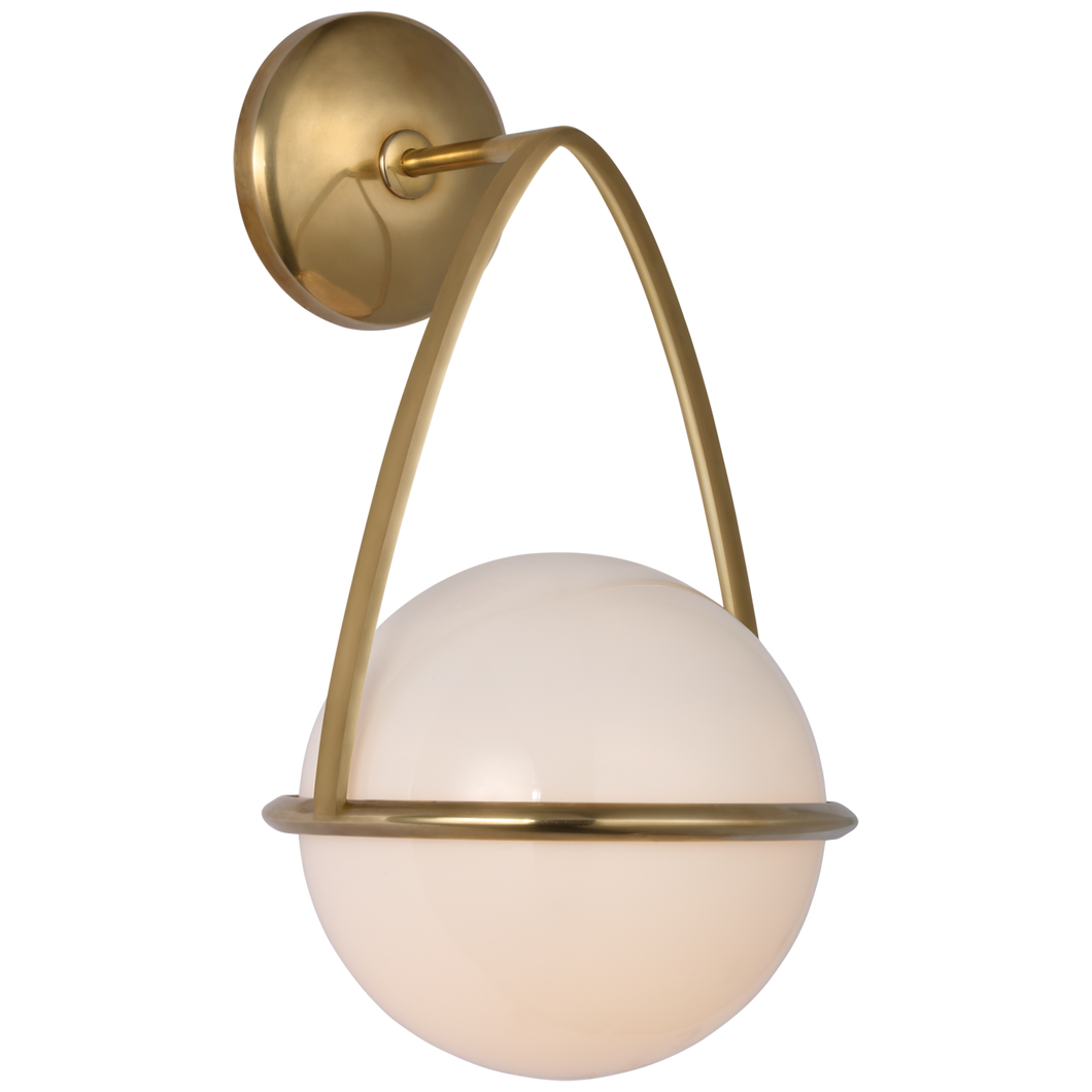 Lisette Bracketed Sconce by AERIN