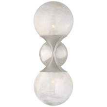 Load image into Gallery viewer, Cristol Small Double Sconce by Visual Comfort