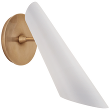 Load image into Gallery viewer, Franca Pivoting Shade Sconce by AERIN