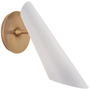 Franca Pivoting Shade Sconce by AERIN