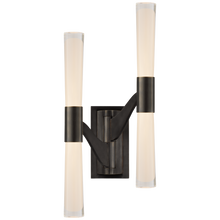 Load image into Gallery viewer, Brenta Large Double Articulating Sconce by AERIN