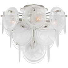 Load image into Gallery viewer, Loire Medium Tiered Flush Mount by AERIN