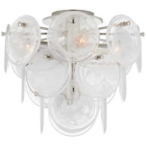 Loire Medium Tiered Flush Mount by AERIN