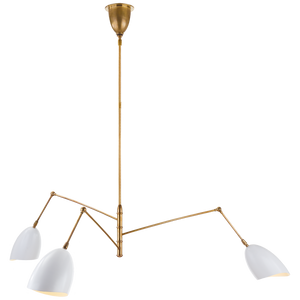 Sommerard Large Triple Arm Chandelier