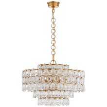 Load image into Gallery viewer, Liscia Medium Chandelier by Visual Comfort