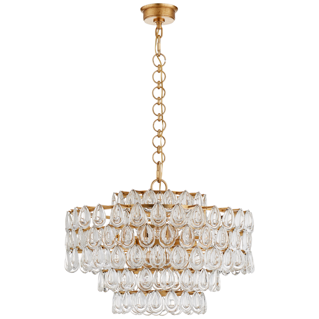 Liscia Medium Chandelier by Visual Comfort