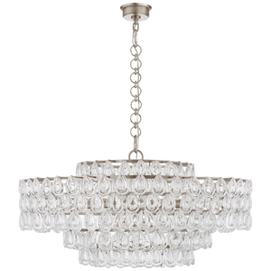 Liscia Large Chandelier by Visual Comfort