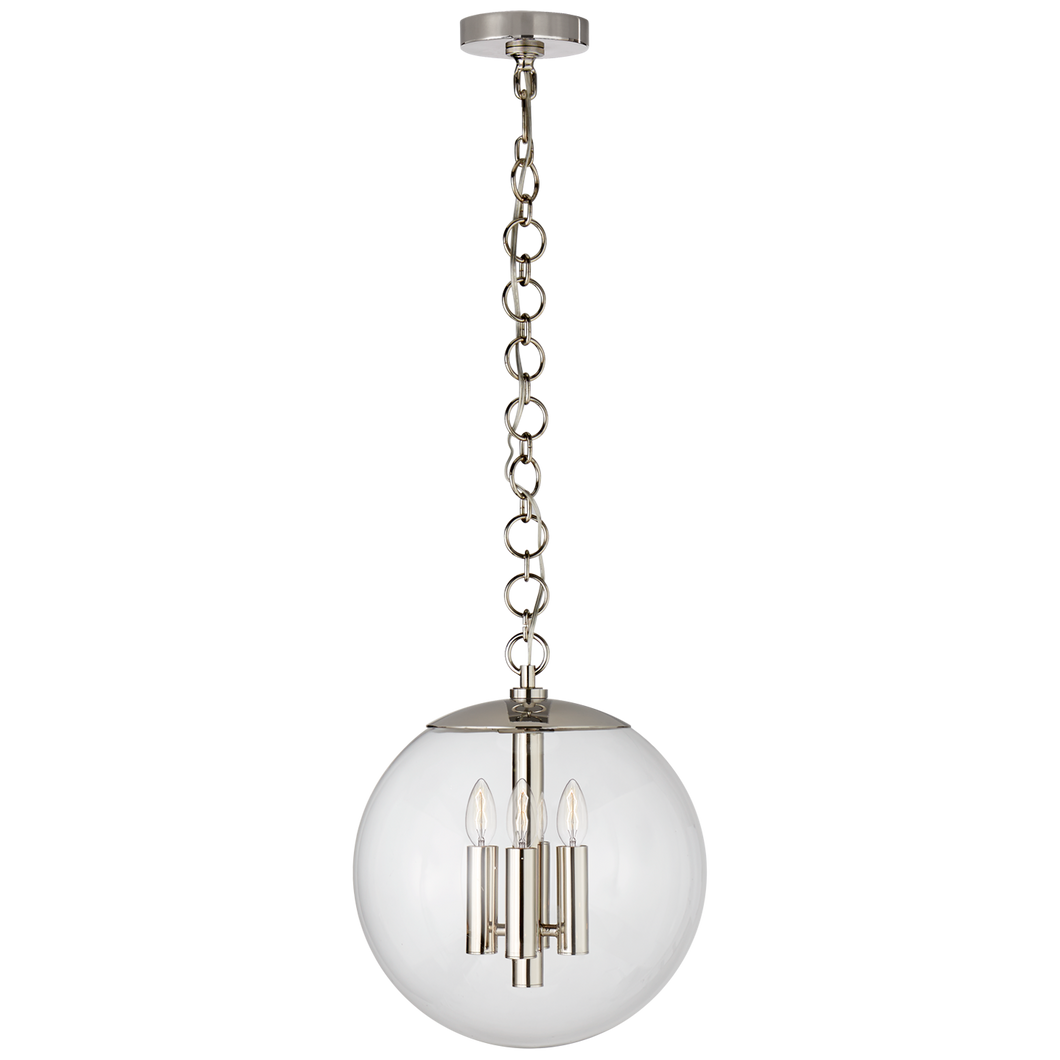 Turenne Medium Globe Pendant by AERIN