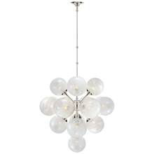 Load image into Gallery viewer, Cristol Large Tiered Chandelier by Visual Comfort