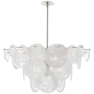 Loire Large Chandelier by Visual Comfort