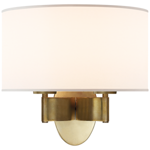 Graceful Ribbon Double Sconce by Visual Comfort