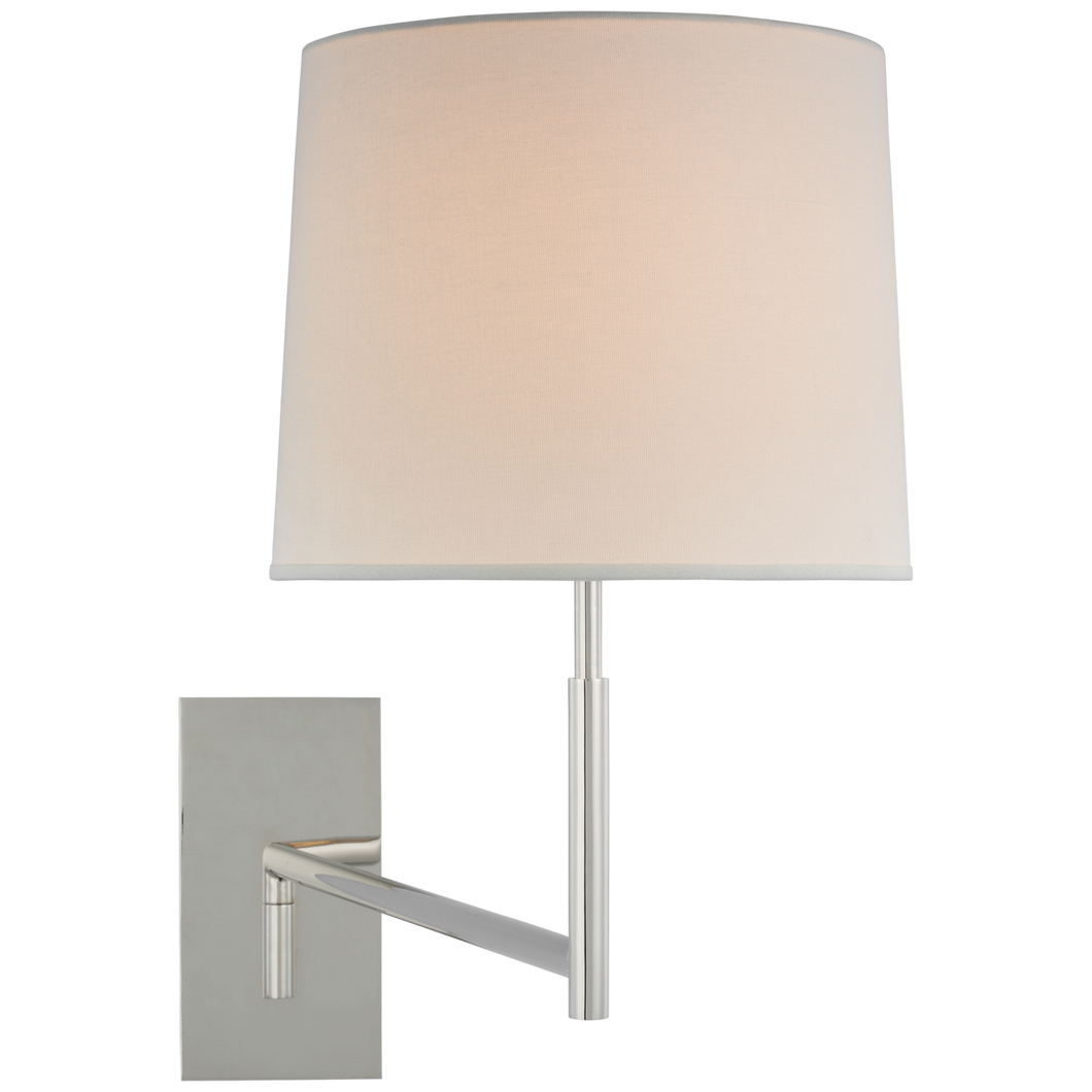 Clarion Medium Articulating Sconce by Barbara Barry