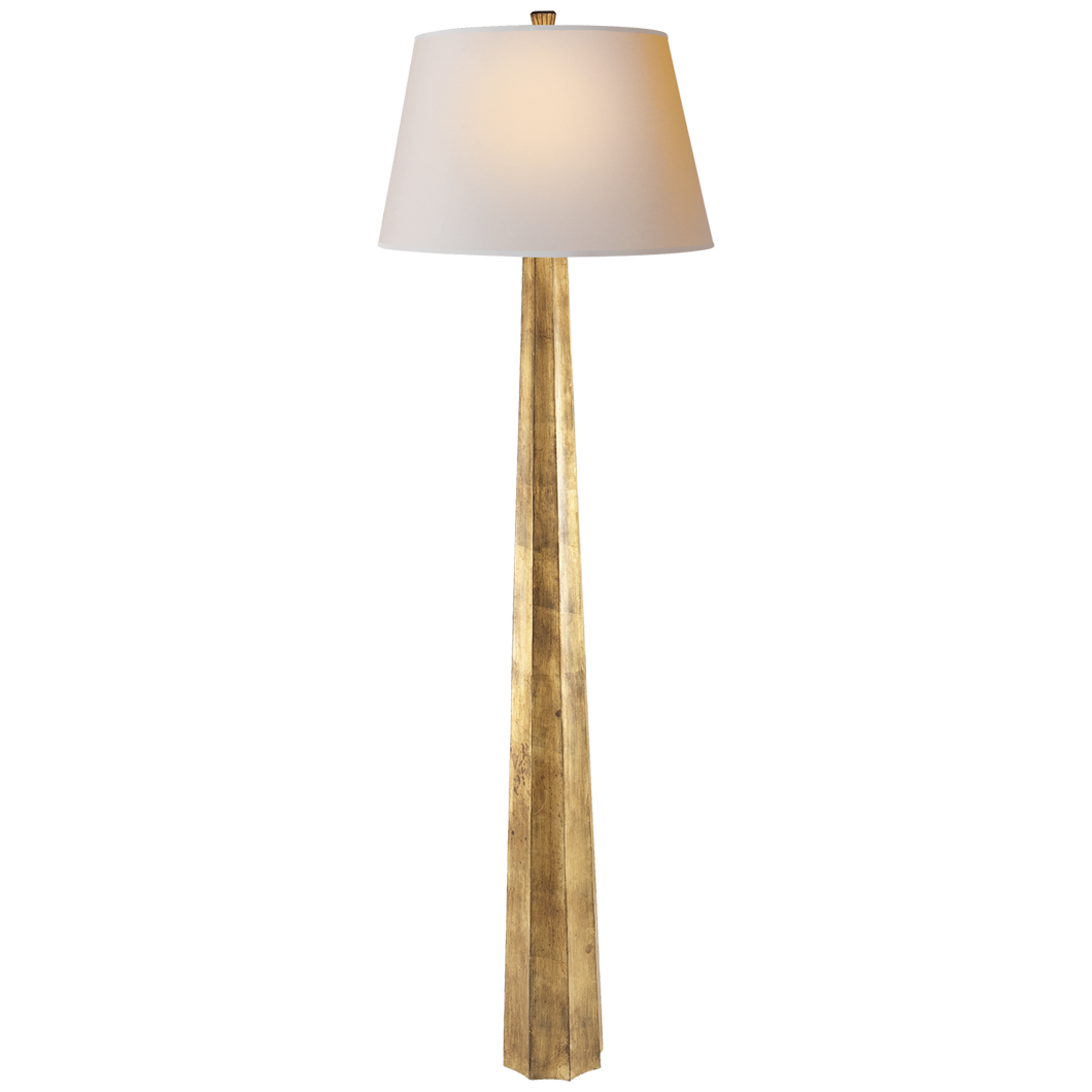 Fluted Spire Floor Lamp by Visual Comfort