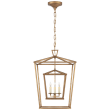 Load image into Gallery viewer, Darlana Medium Double Cage Lantern by Visual Comfort