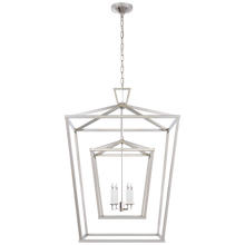 Load image into Gallery viewer, Darlana Double Cage Lantern by Visual Comfort