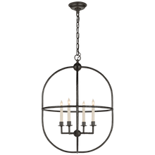 Load image into Gallery viewer, Desmond Open Oval Lantern by Visual Comfort