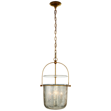 Lorford Small Smoke Bell Lantern by Visual Comfort