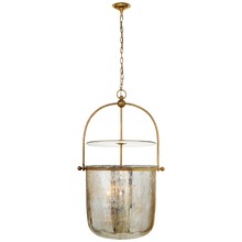 Load image into Gallery viewer, Lorford Large Smoke Bell Lantern by Visual Comfort