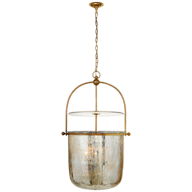 Lorford Large Smoke Bell Lantern by Visual Comfort