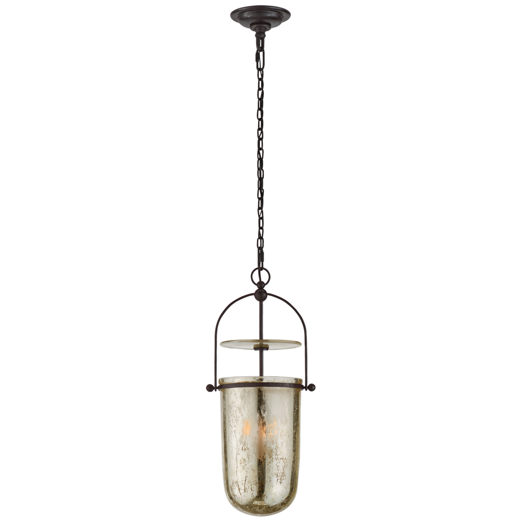 Lorford Tall Smoke Bell Lantern by Visual Comfort