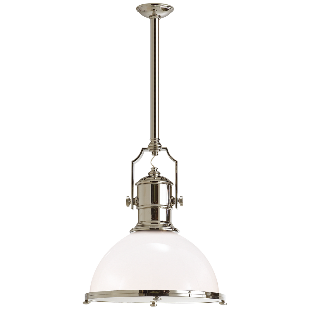 Country Industrial Pendant by Visual Comfort