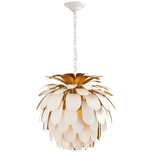 Cynara Medium Chandelier by Visual Comfort