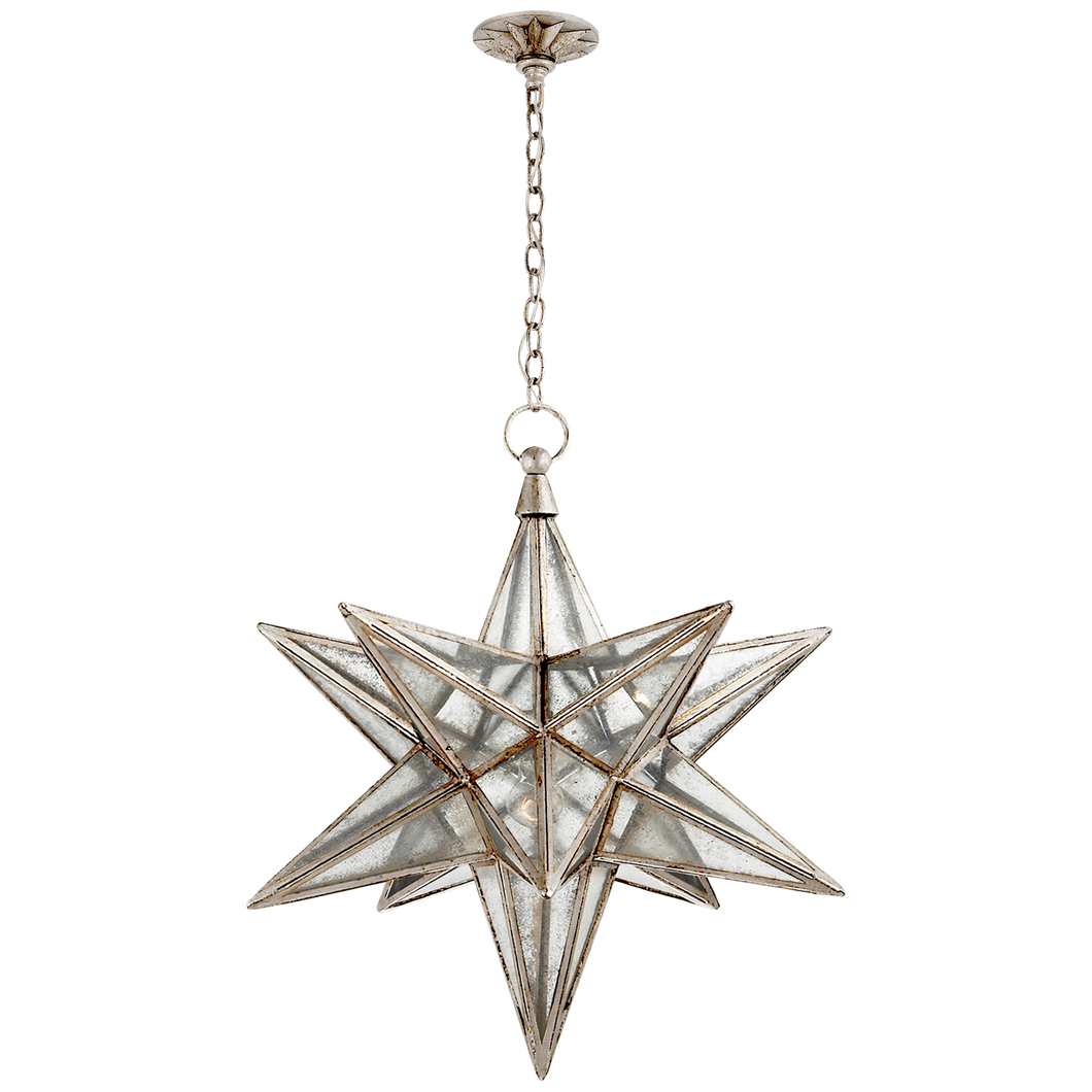 Moravian Large Star Lantern by Visual Comfort