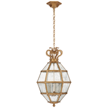 Load image into Gallery viewer, Venezia Medium Faceted Scroll-Top Lantern by Chapman & Meyers