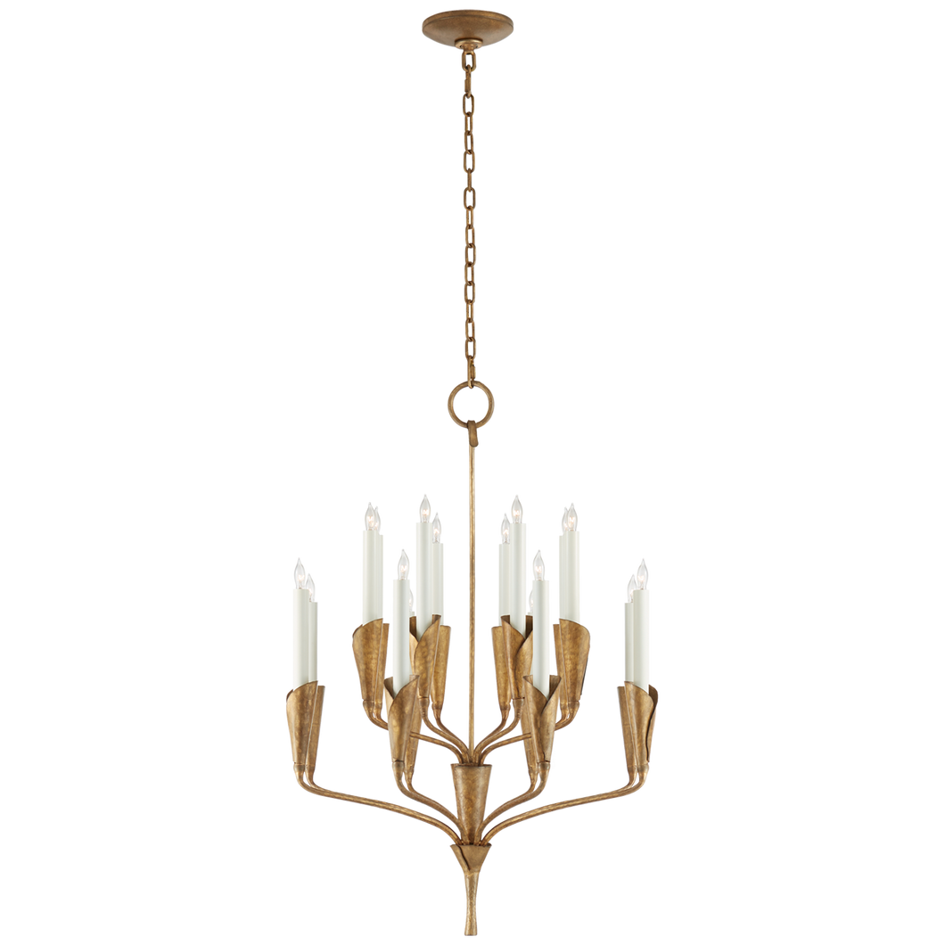 Aiden Small Chandelier by Visual Comfort