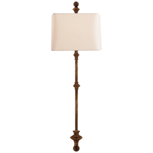 Cawdor Stanchion Wall Light by Chapman & Myers