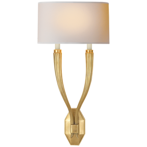 Ruhlmann Double Sconce by Chapman & Myers