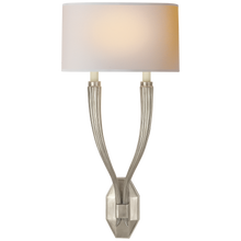 Load image into Gallery viewer, Ruhlmann Double Sconce by Chapman & Myers