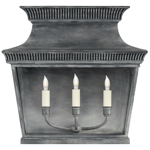 Elsinore Extra Wide 3/4 Lantern by Visual Comfort